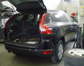 Volvo XC60 grijs kenteken